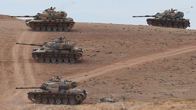 Türkiye Cerablus Operasyonunu Başlattı