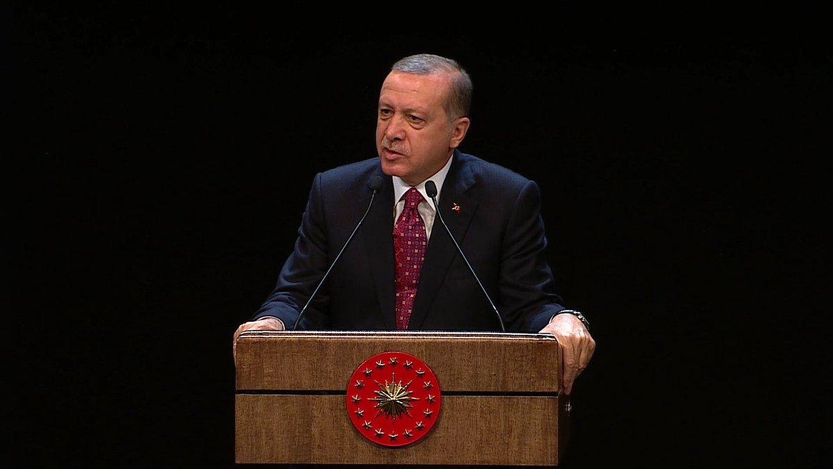 Erdoğan: Artık Bu İşi Çözmemiz Gerekiyor