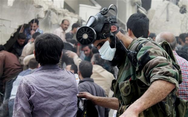 BM: Suriye'de Kimyevi Silah Kullanıldı