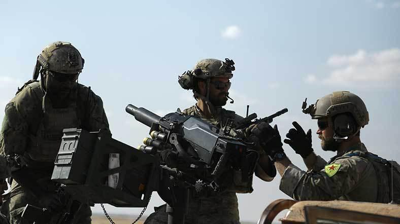 'ABD, YPG'ye Silah ve İstihbarat Desteğini Kesti' İddiası