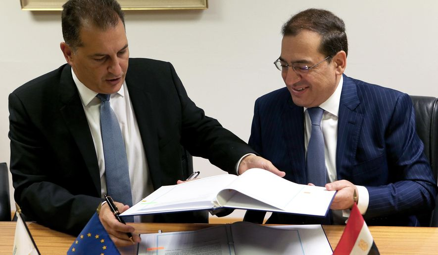 Mısır ve Güney Kıbrıs Arasında Doğalgaz Anlaşması