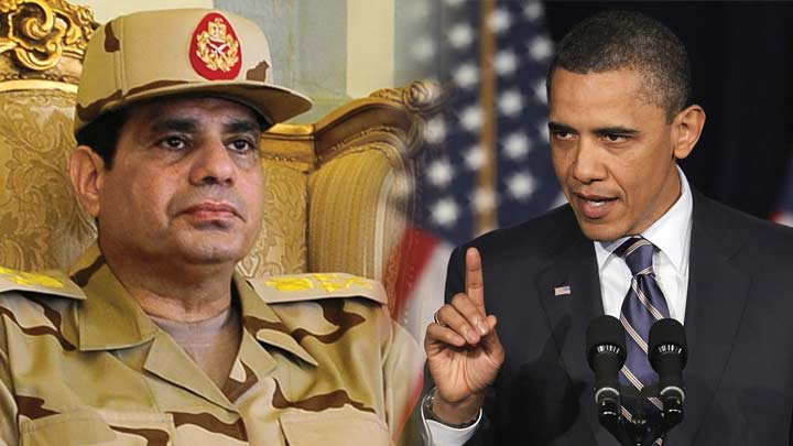 Obama Sisi'yi Görmezden Geldi