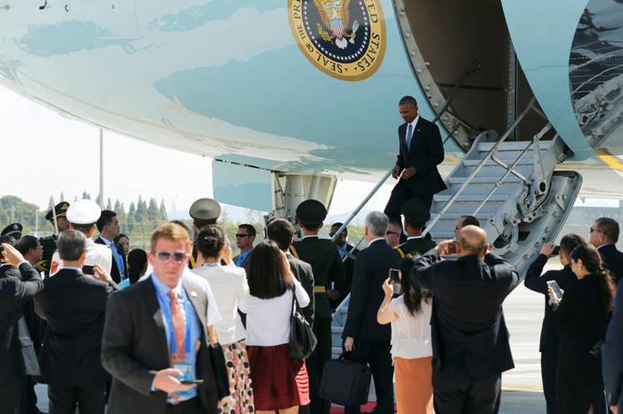 Çin'in Obama'yı Karşılama Protokolü Tepki Çekti