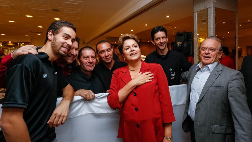 Rousseff Destekçileri Sokaklarda