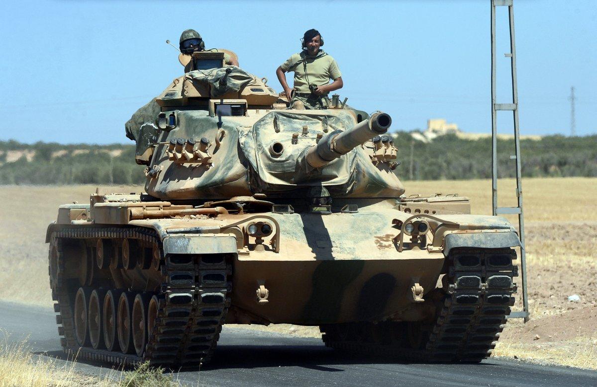 IŞİD Türk tankını vurdu: 3 asker öldü