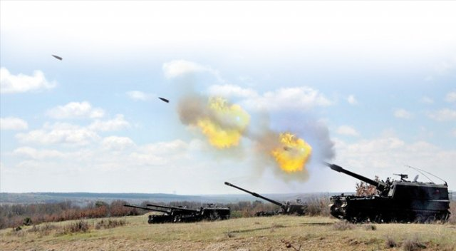 TSK'dan Suriye rejimine misilleme