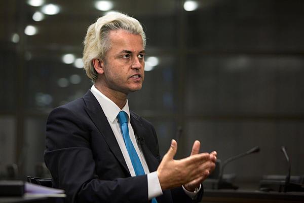 """Wilders: """"Darbe başarılı olsaydı sevinirdim"""""""