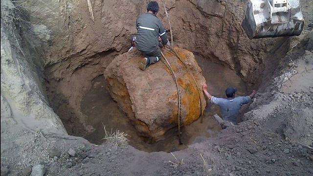 Arjantin'de devasa meteor