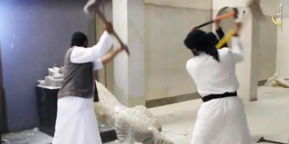 IŞİD'in parçaladığı tarihi eserlerin '3D çıktısı' alınacak