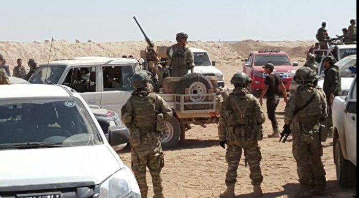 Muhalifler Çobanbey'e giren ABD askerlerini kovdu