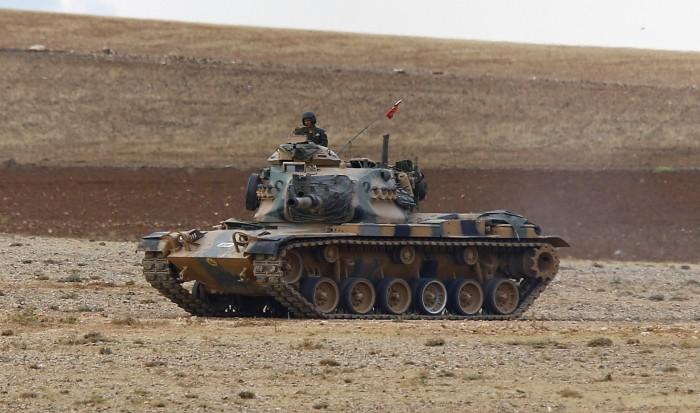 IŞİD Türk tankını vurdu, 3 yaralı