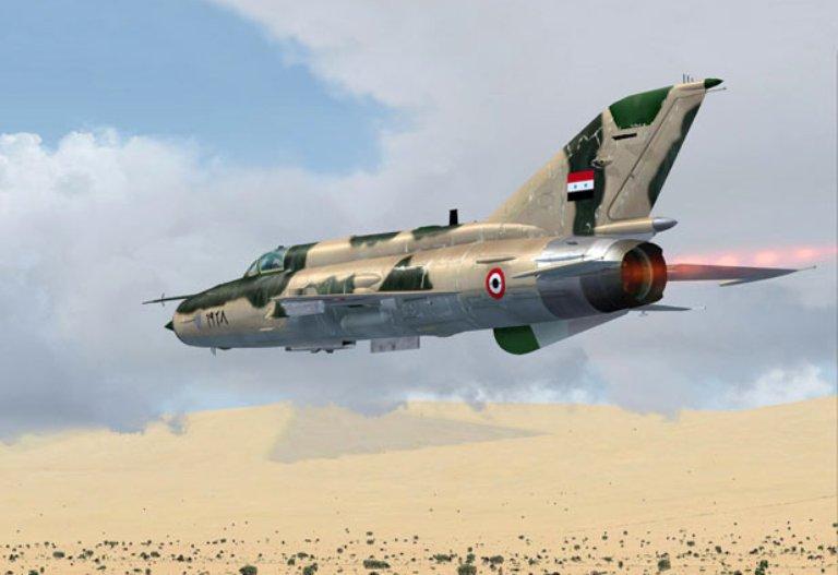 IŞİD, rejime ait bir savaş uçağını düşürdü