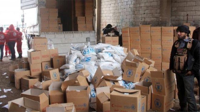 """""""Suriye'de yardımları askıya aldık"""""""