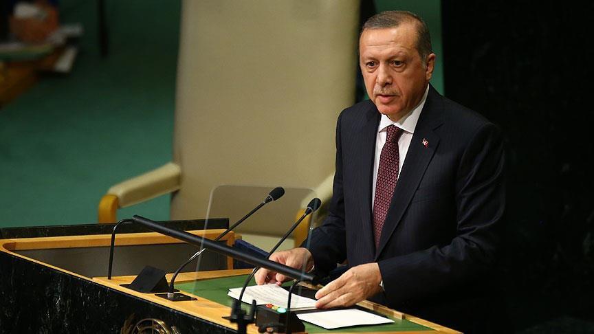 Erdoğan BM Genel Kurulu'nda konuştu: Dünya 5'ten büyüktür