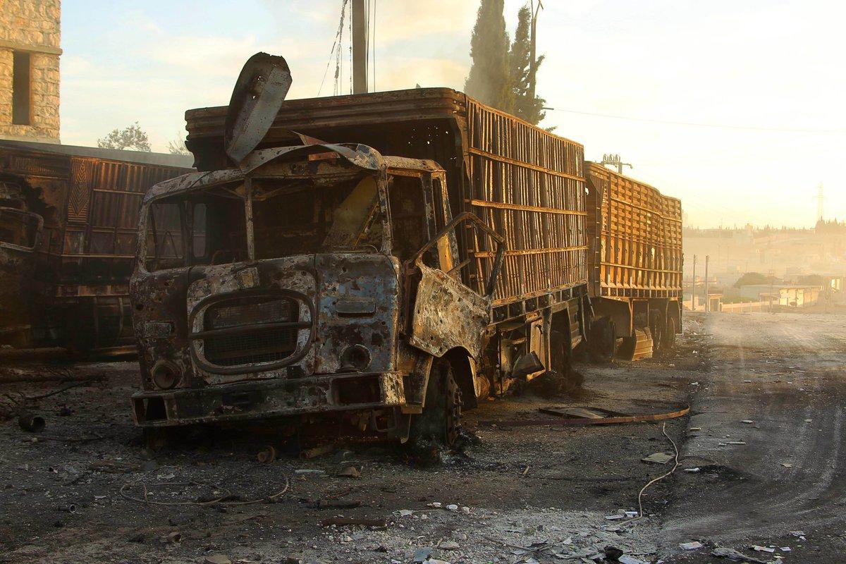 ABD: Yardım konvoyuna yönelik saldırıdan Rusya sorumlu