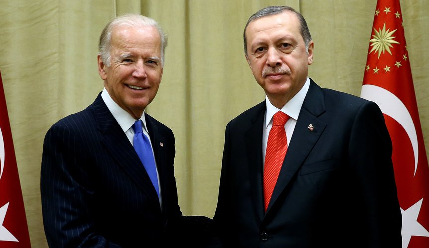 Erdoğan'dan Biden'a: PYD varsa biz yokuz