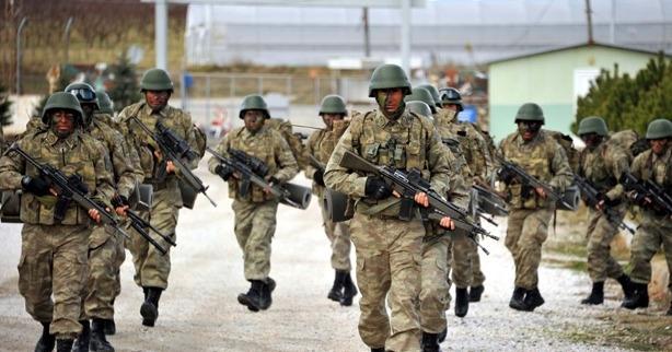 41 bin asker 'Fırat Kalkanı' için hazır bekliyor
