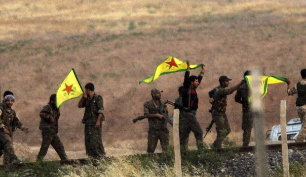 """YPG'den Şam'a ziyaret"""