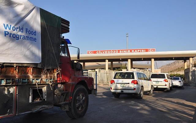 BM TIR'ları İdlib'e gitti