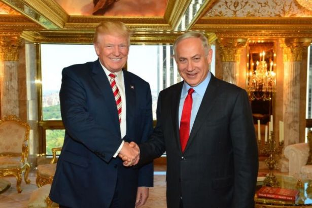 Trump'tan İsrail'e 'bölünmemiş Kudüs' sözü