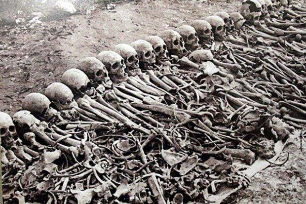 Cezayir işgalinden kalan kafatasları yeniden gündemde