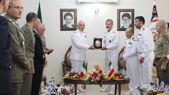 İran donanmasının İtalya'da ne işi var?