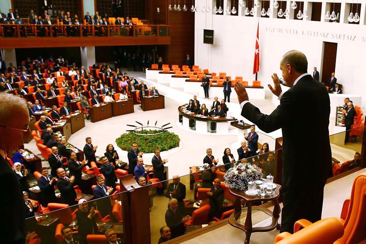 Erdoğan meclis açılışında konuştu
