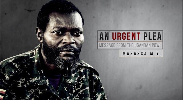 Şebab, esir Uganda askerinin görüntülerini yayınladı