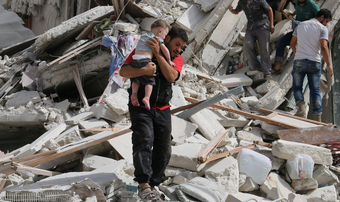 Rejimden Halep halkına tehdit: 'Kaçınılmaz kadere' teslim olacaksınız