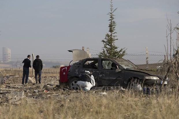 Ankara'da iki canlı bomba kendini patlattı