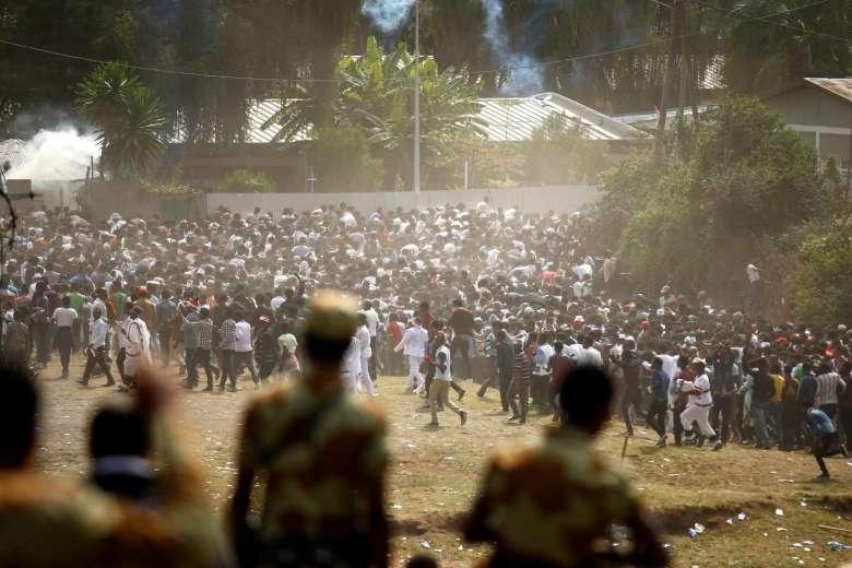 Etiyopya'da sokak olayları: Olağanüstü hal ilan edildi