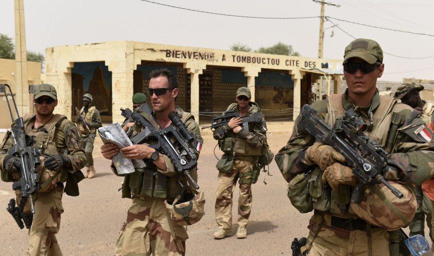 IŞİD'in 'İntihar Drone'u Fransız askerleri yaraladı