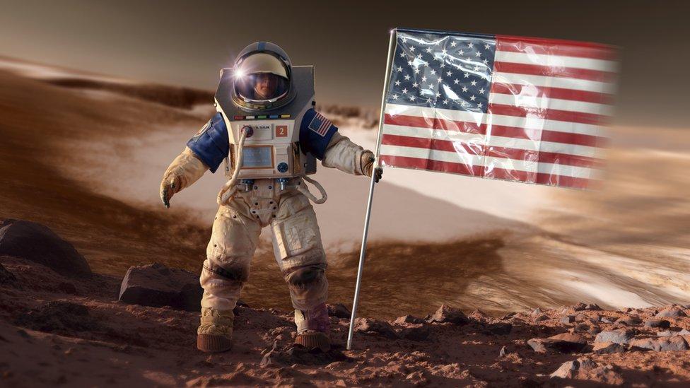 Mars'ta şehir kurma planına Obama'dan destek