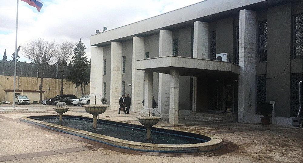 Muhalifler, Rusya'nın Şam Büyükelçiliği'ne bir ay içerisinde  iki saldırı düzenledi