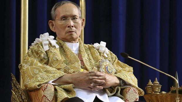70 yıl iktidarda kalan Tayland Kralı Bhumibol öldü