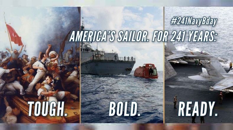 ABD Donanması'ndan Türk bayraklı paylaşım: Üstü örtülü tehdit mi?