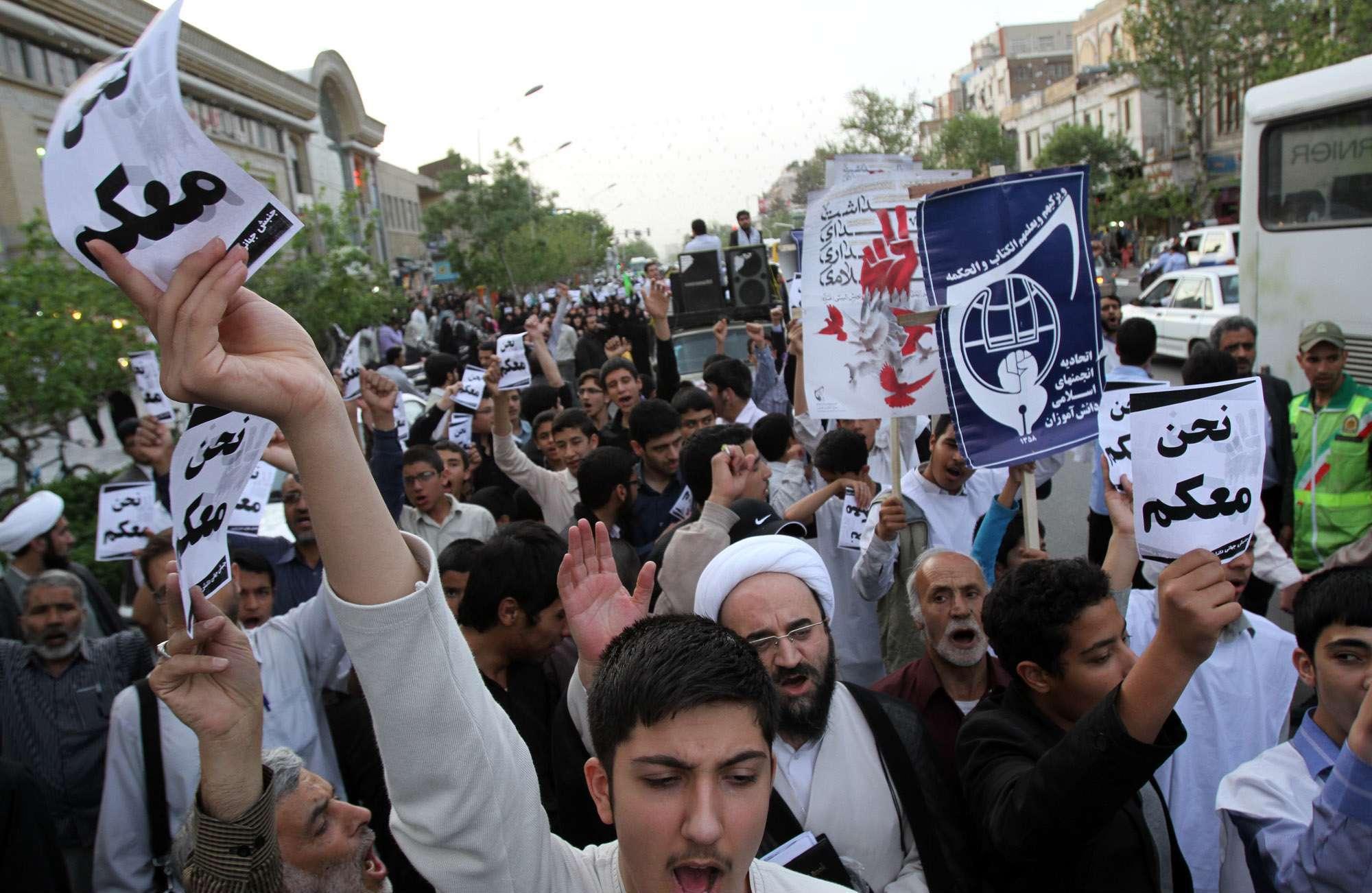 İran halkı Suriye'deki savaşı destekliyor