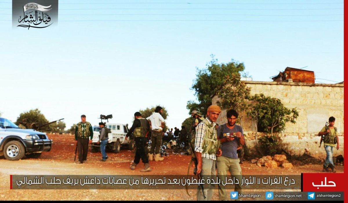 TSK destekli ÖSO grupları IŞİD'ten Dabık'ı aldı.