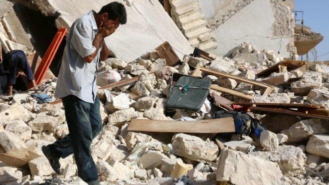 ''Halep düşerse Felluce olur''
