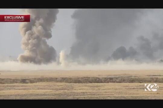 IŞİD Musul'u bombalı araçlarla savunuyor