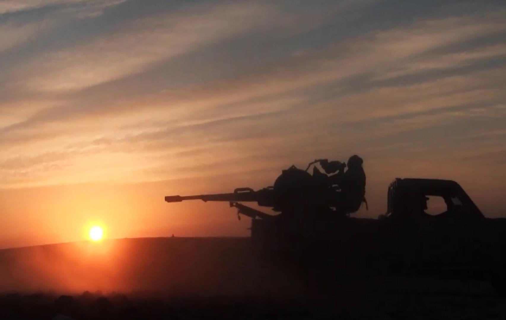 HTŞ: Savaşımız toprak için değil