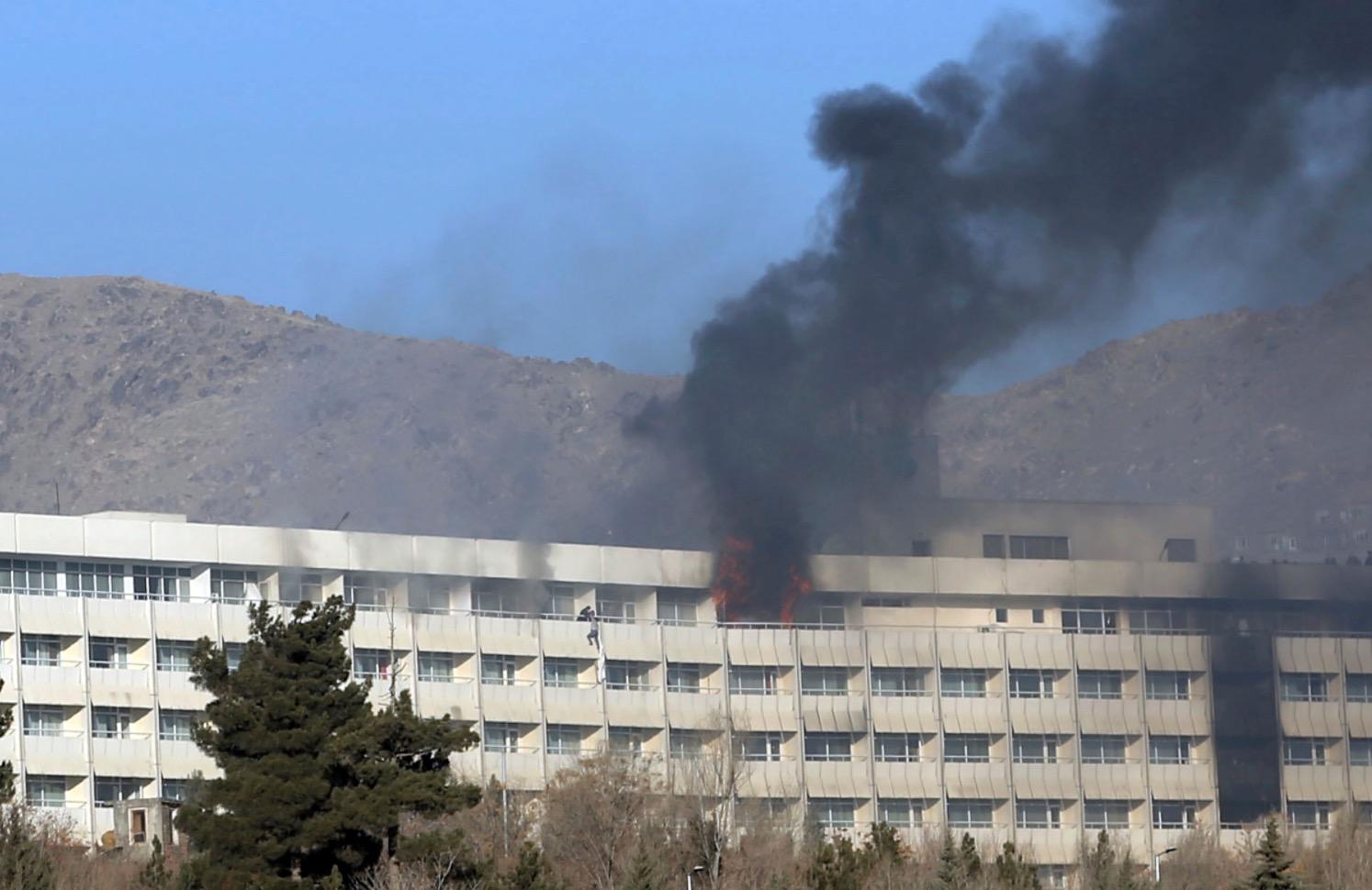 Taliban'ın otel saldırısında 'birden fazla' ABD'li öldü