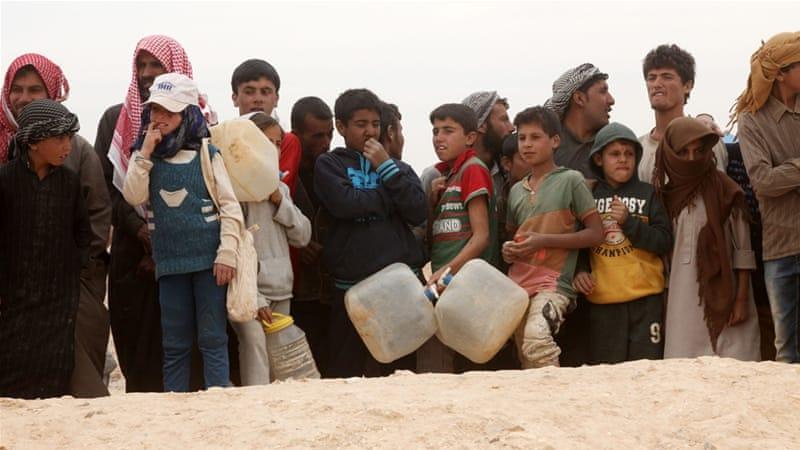 Suriye'de 1 milyon 300 bin kişi yerinden edildi