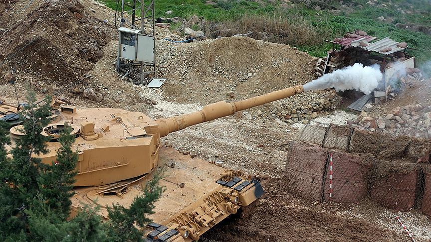 'Zeytin Dalı Harekatı'nda 343 PKK'lı etkisiz hale getirildi'