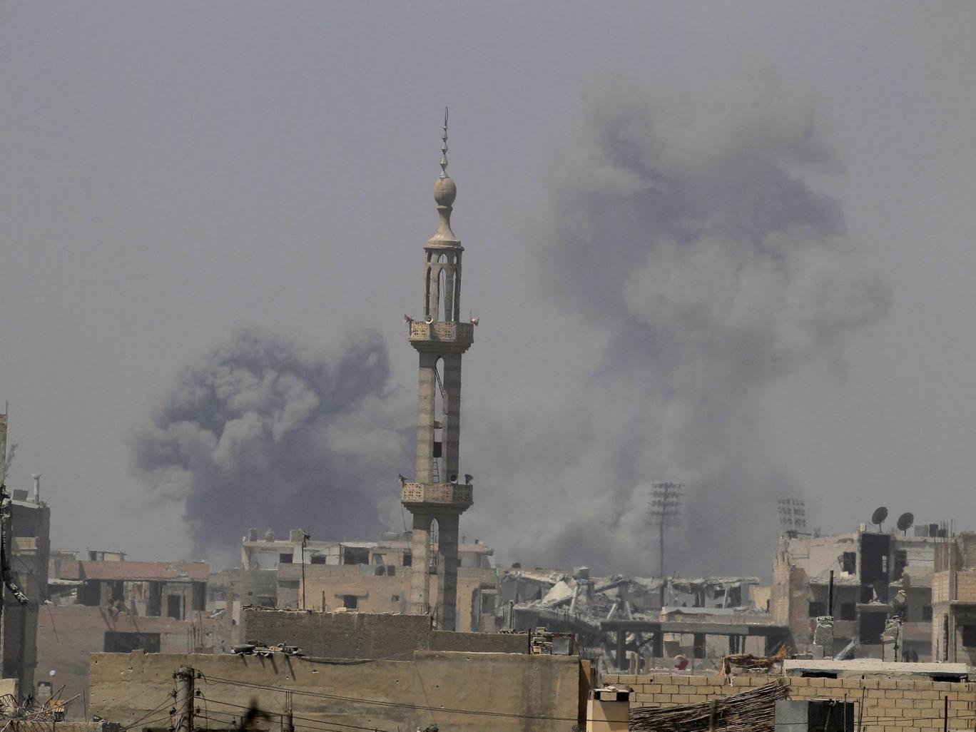 ABD'nin Suriye'de düzenlediği hava saldırısında katliam yaşandı