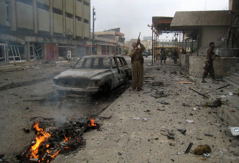 IŞİD'ten sürpriz hamle: Kerkük şehir merkezinde çatışmalar var