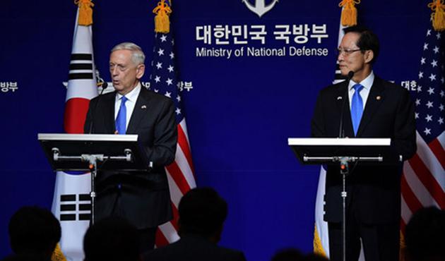 ABD ve Güney Kore, Kuzey Kore'ye karşı güçlerini birleştiriyor