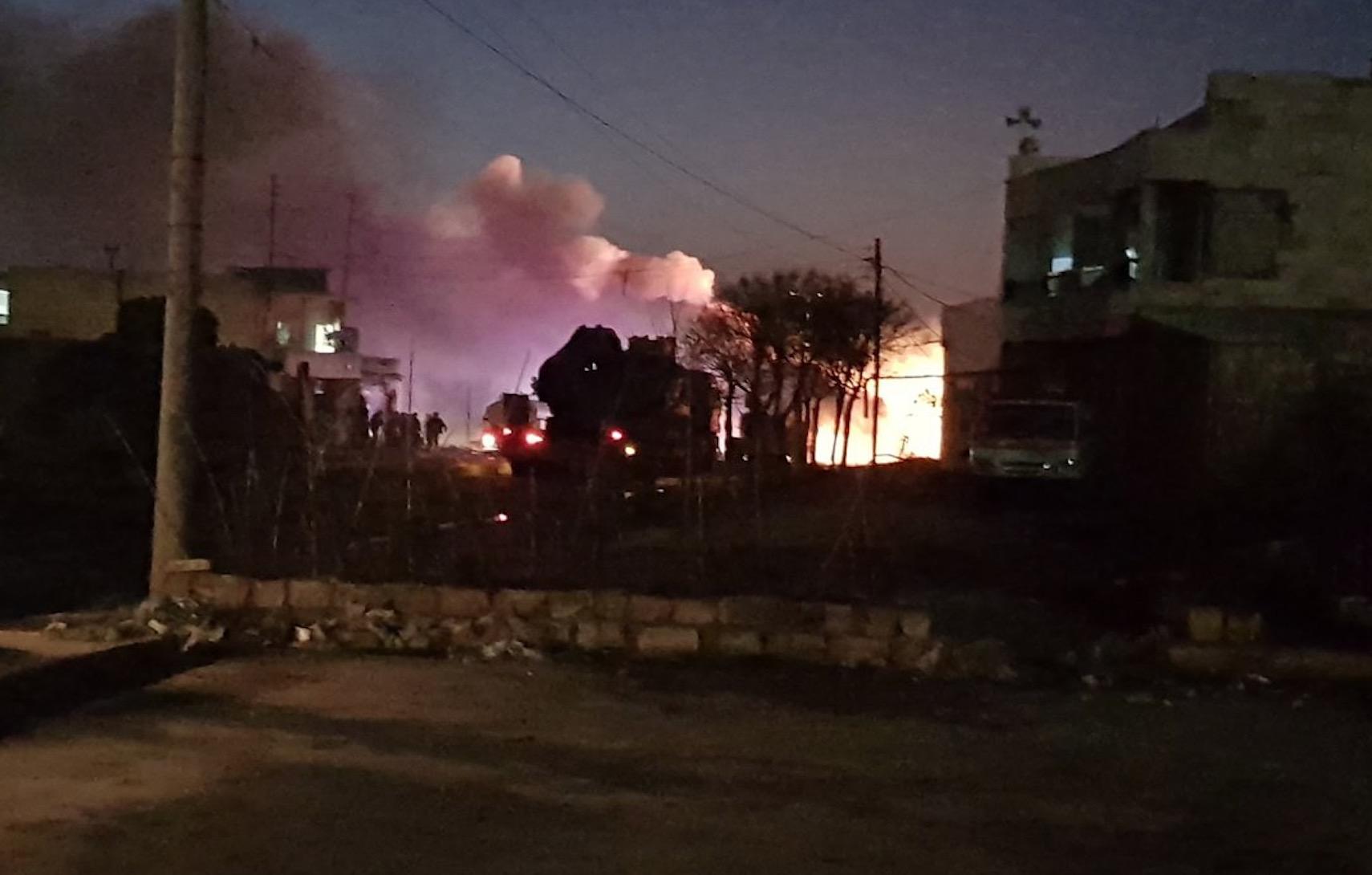 Suriye'de TSK konvoyuna bombalı araç saldırısı düzenlendi