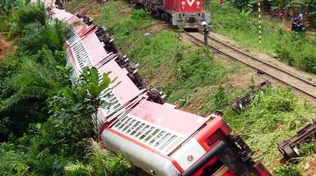 Kamerun'da tren kazası