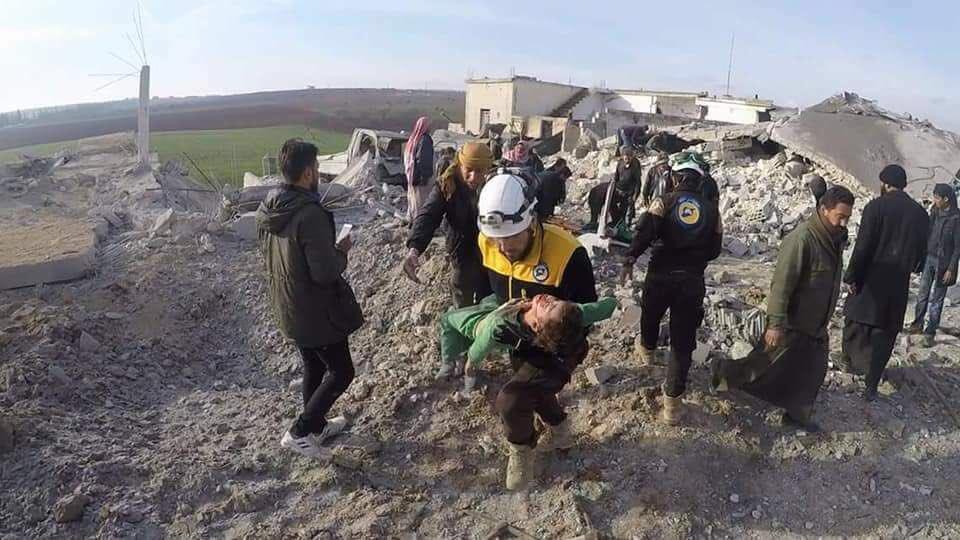 Rusya'nın İdlib'e düzenlediği saldırılarda 1 ayda 211 sivil öldü